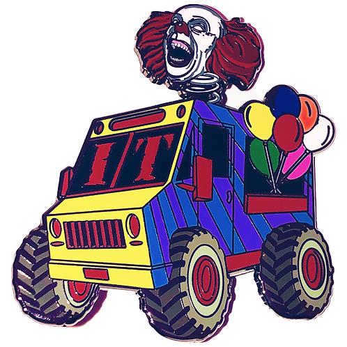 Clown Truck - Hard Enamel Pin