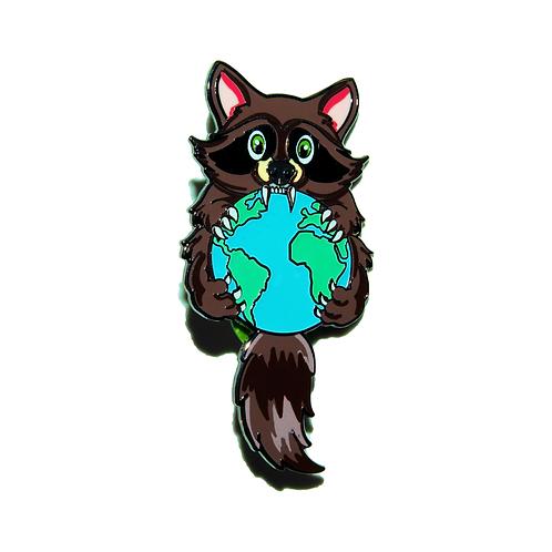 The World Iz Trash - Hard Enamel Pin