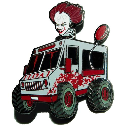 Clown Truck v2 - Hard Enamel Pin