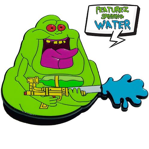 Super Slime - (Spinning Splash Variant) Soft Enamel Pin
