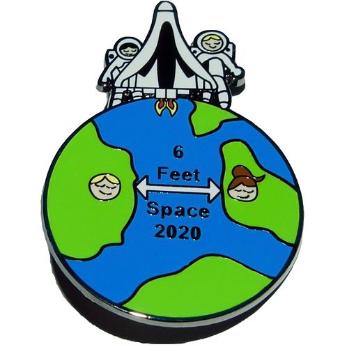 Space 2020 - Hard Enamel Pin