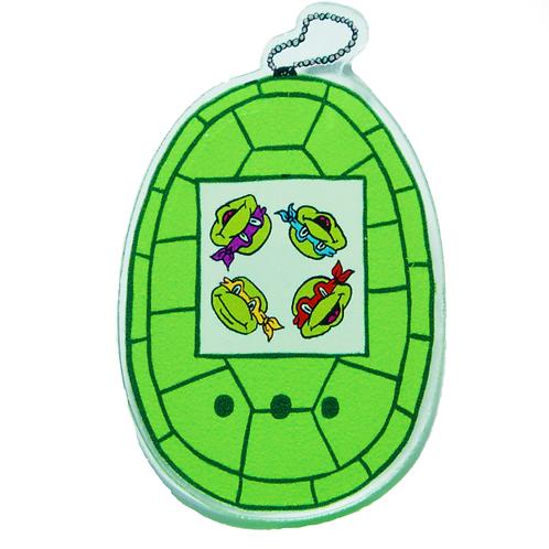 Turtle-Gotchi - Neon Green Variant Acrylic Pin