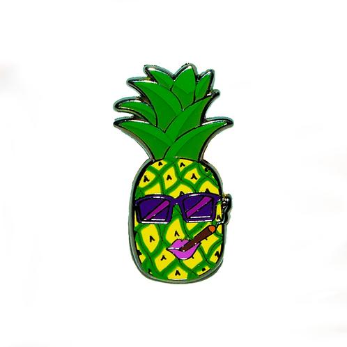 Pineapple Samantha - Hard Enamel Pin
