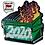 Thumbnail: Dumpster Fire 2020 - Hard Enamel Pin