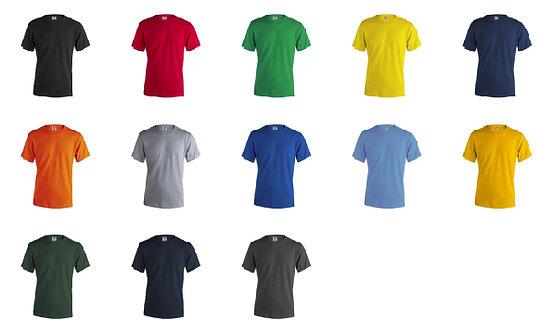 T-shirt Adulto Cor 180 gramas