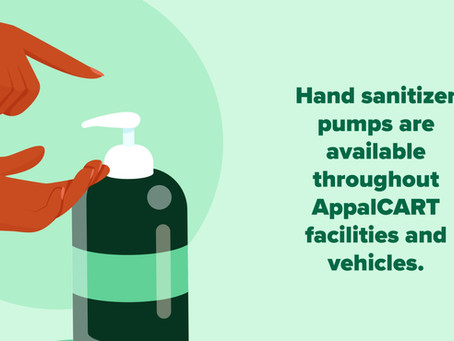 How is AppalCART Keeping Riders Safe?