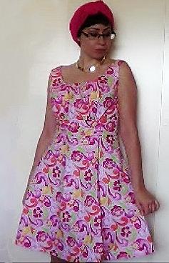 Rose' Vintage A Line Dress
