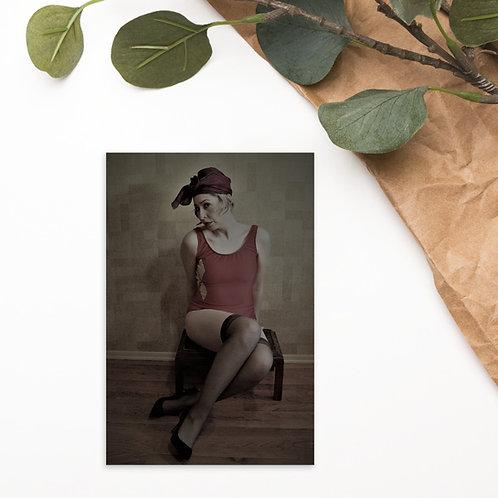 Glamour Girl Postcard