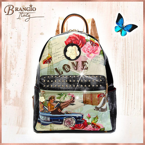 Vintage Trusti Fashion Backpack for Women