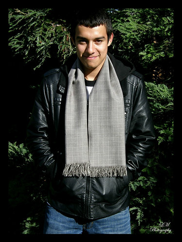 Taupe Wool Scarf