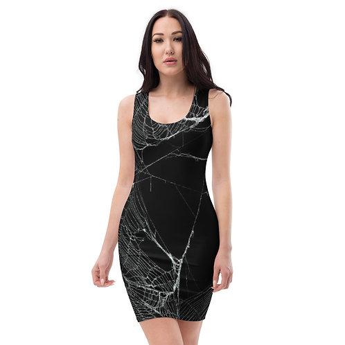 Spider Web Bodycon Dress