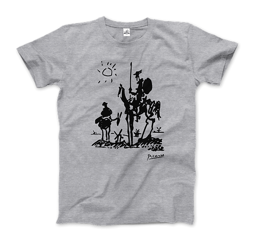 Pablo Picasso Don Quixote of La Mancha 1955 Artwork T-Shirt