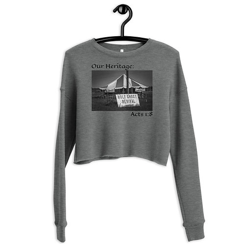 Our Heritage Cropped Sweatshirt