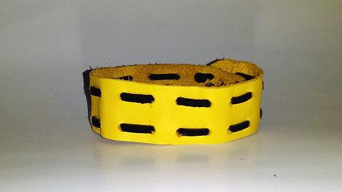 Laced Leather Bracelet