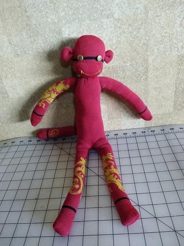 Gryffindor Sock Monkey