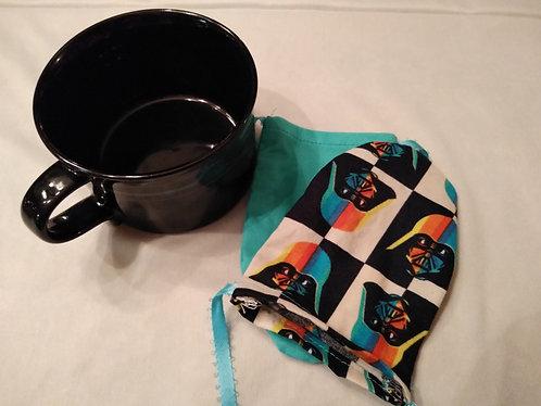Dark Side Reusable Tea Bags