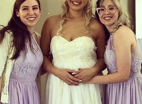 Wedding Dress in a Day- Mystery Box Sewing Challenge Week #3