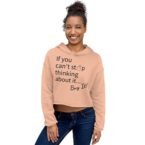 Buy It Cropped Hoodie