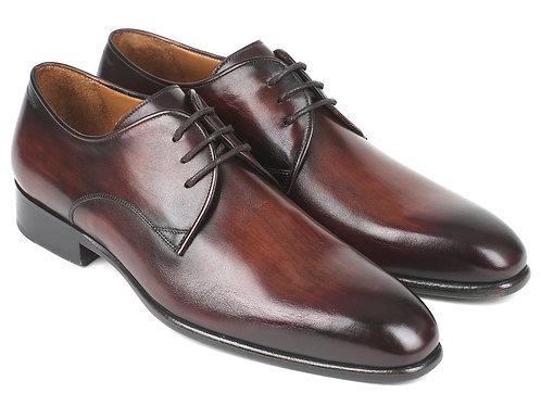 Paul Parkman Antique Brown Derby Shoes