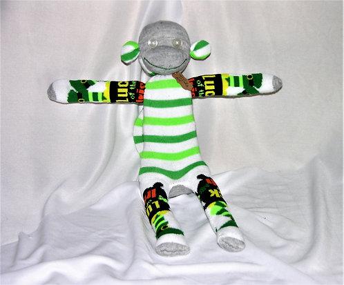 St. Patrick's Day Monkey