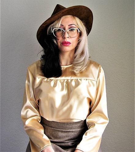 Lois Satin Blouse