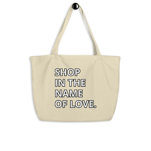 Large organic Shopping bag