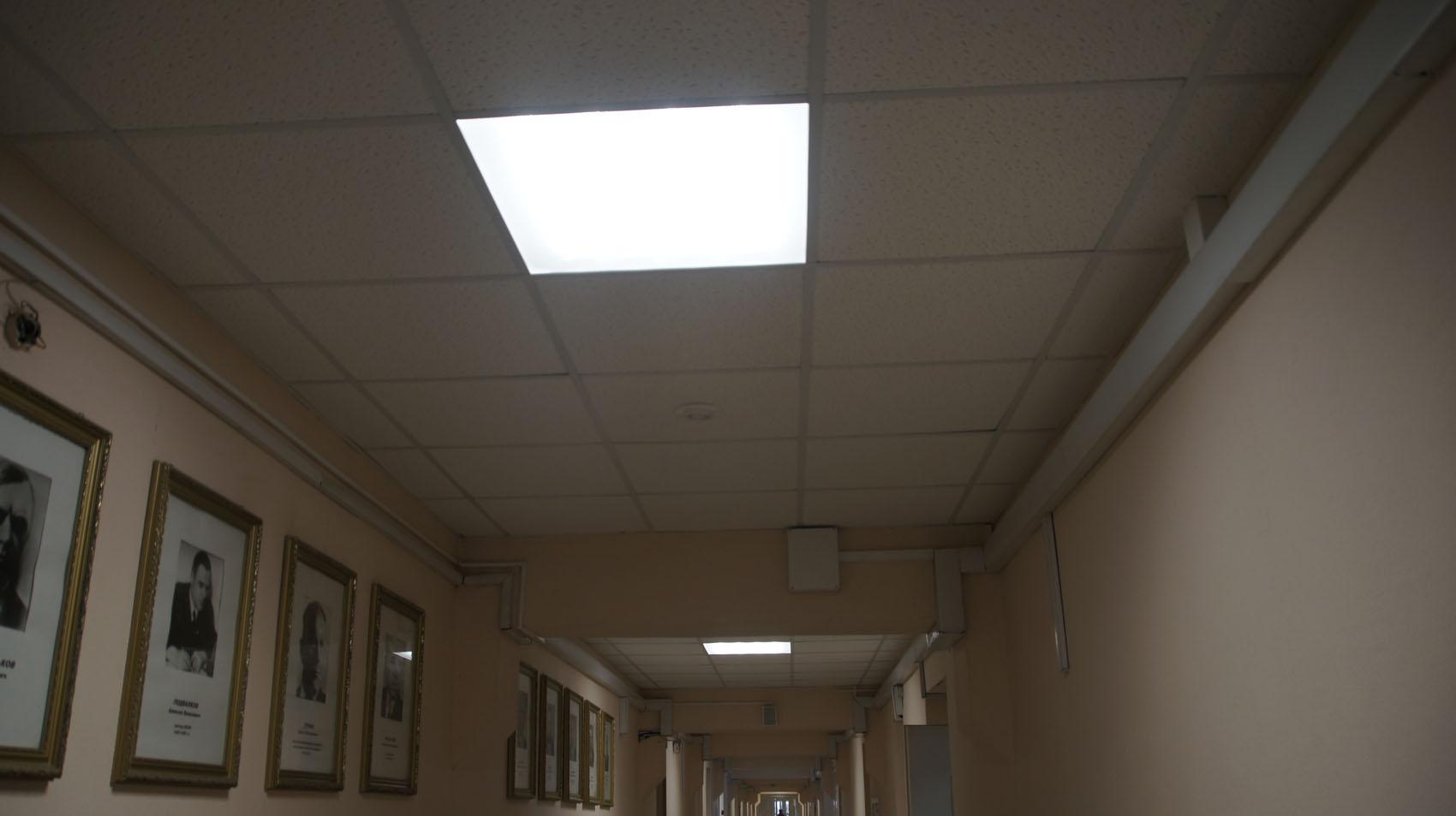 Новые светильники