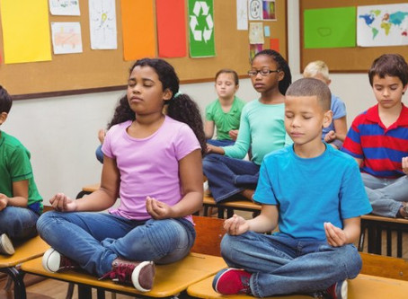 Our Kids need Meditation today