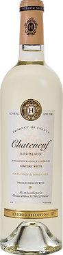 Chateneuf Semi Dry White Bordeaux