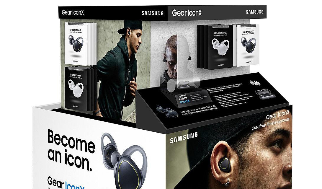 Samsung Custom Retail Pallet Design