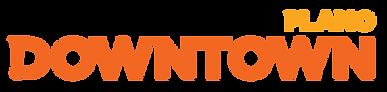 downtown plano logo design concept