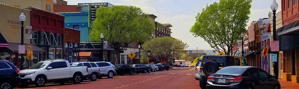 graohic design studio located just outside dallas texas in downtown plano