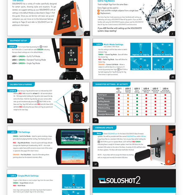 usewr guide instruction manual design