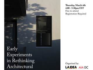 Early Experiments in Rethinking Architectural Practice by Nicolás Delgado Alcega
