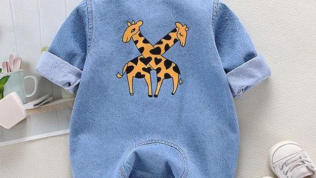 It's the Baby Jean Giraffe Romper