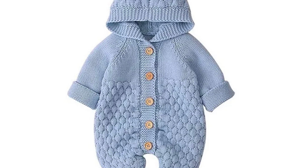 It's the Baby Bear Knitted Jumpsuit (Blue)