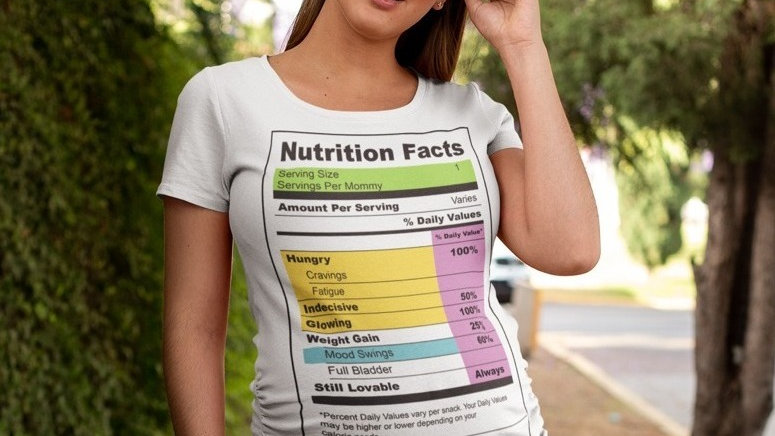Mommy's Nutrition Facts