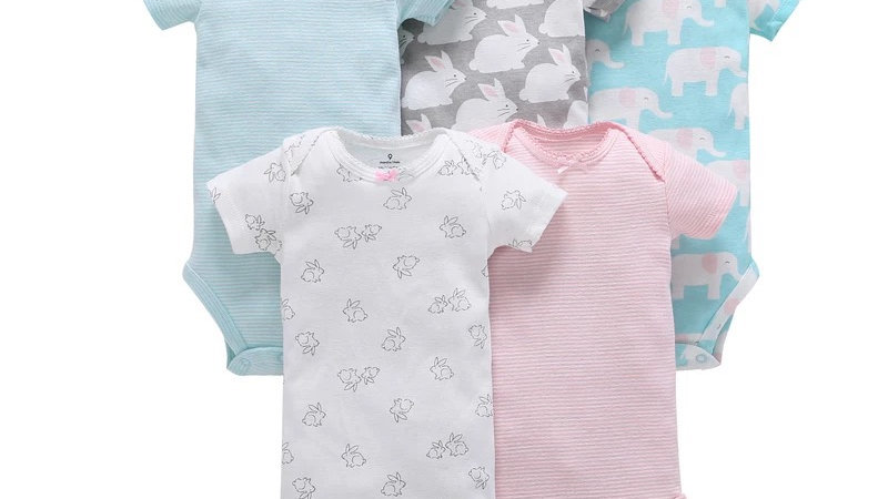 It's the Baby Lovely Girl 5-Pack Onesies