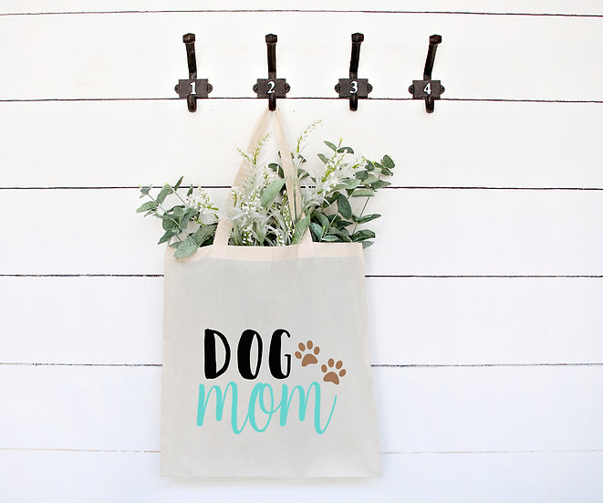 "Stofftasche ""DOG MOM"""