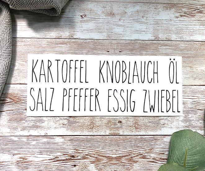 KÜCHEN-Schriftzüge 2, in DEUTSCH, 7 Stk.