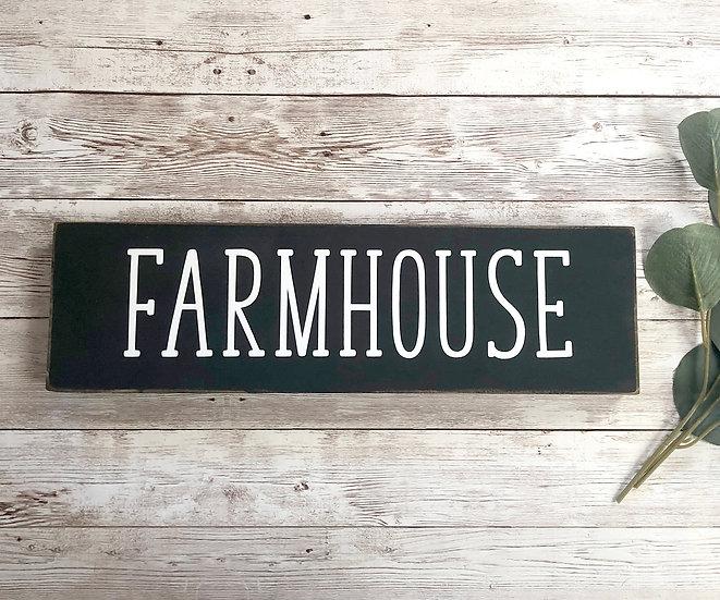 FARMHOUSE Schild