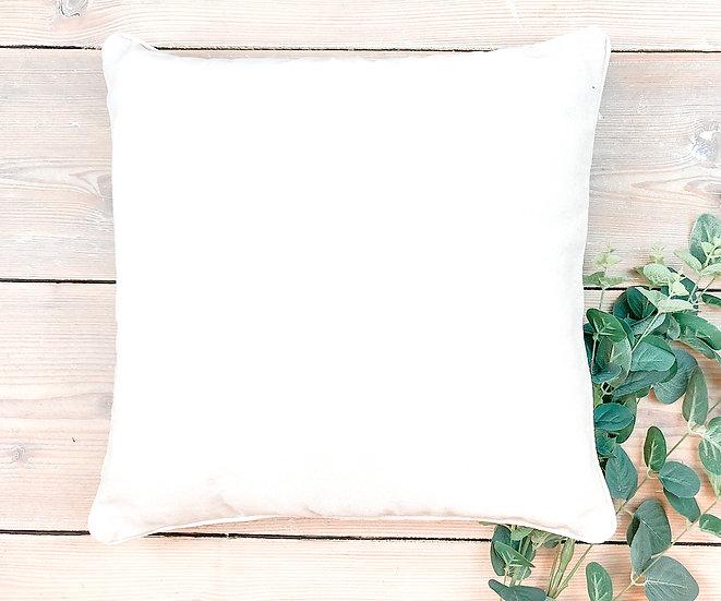 Polsterhülle, weiß, ca. 40 x 40 cm