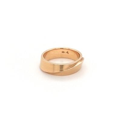 Cardillac roodgouden ring