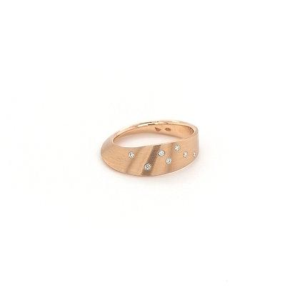 Cardillac ring met diamant