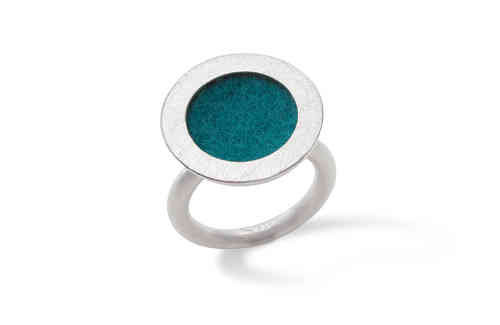 Michaela Binder ring met vilt 15 mm