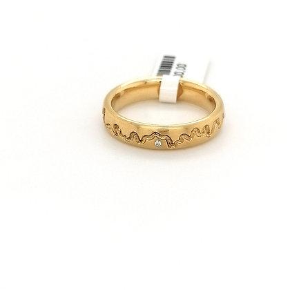 Nobilia slinger ring met diamant