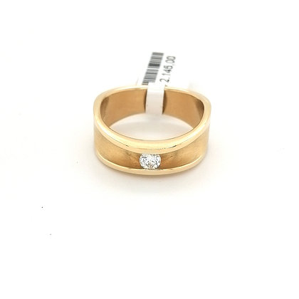 Vincent van Hees ring met diamant