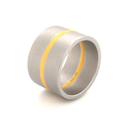 Niessing ring Fusion met fijngoud