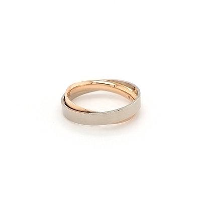 Nobilia dubbele band ring