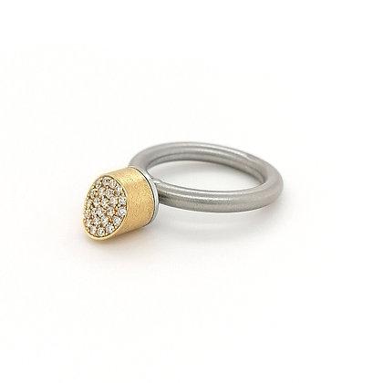 Pur Swivel model Zylinder met diamant